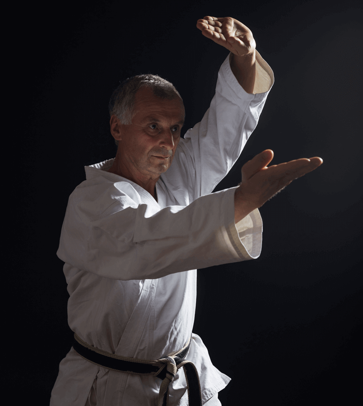 Martial Arts Lessons for Adults in Bayonne NJ - Older Man