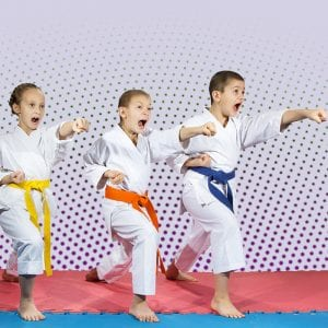 Martial Arts Lessons for Kids in Bayonne NJ - Punching Focus Kids Sync