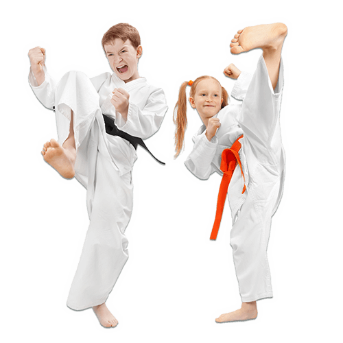 Martial Arts Lessons for Kids in Bayonne NJ - Kicks High Kicking Together