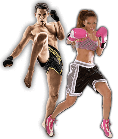 Fitness Kickboxing Lessons for Adults in Bayonne NJ - Kickboxing Men and Women Banner Page