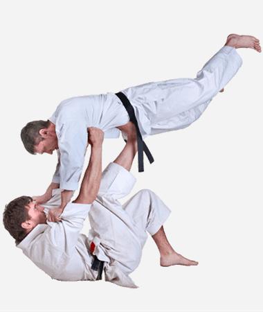 Brazilian Jiu Jitsu Lessons for Adults in Bayonne NJ - BJJ Floor Throw Men